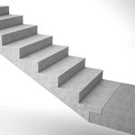 Сборная железобетонная лестница