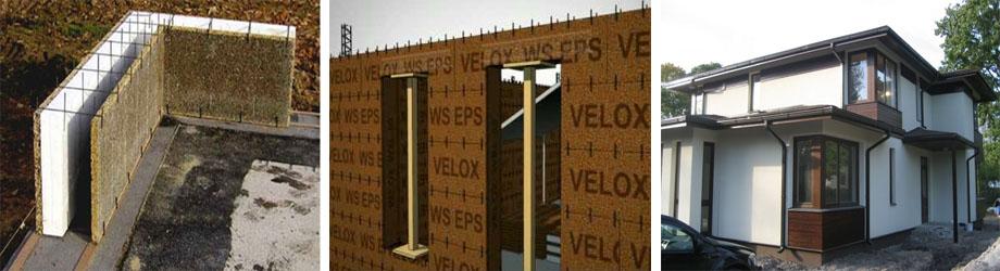 Строительство с использованием системы «Велокс»