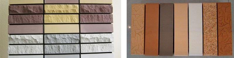 Типы поверхности облицовочного камня