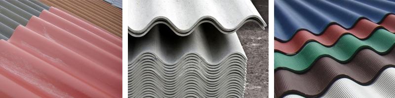 Фото волнового шифера