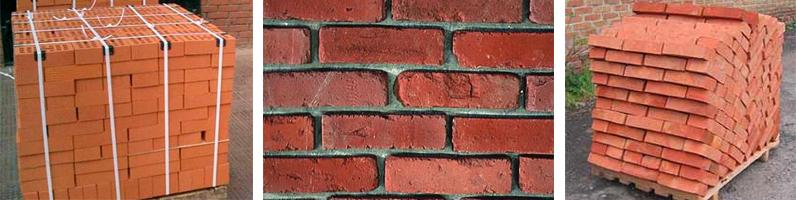 Фото красного рядового кирпича