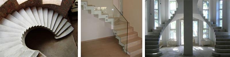 Фото лестничных конструкций