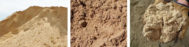 Фото мытого строительного песка