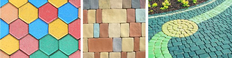 Фото окрашенного бетонна