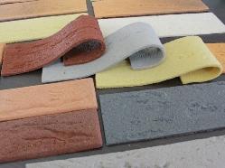 Фото разнообразных видов гибкого кирпича