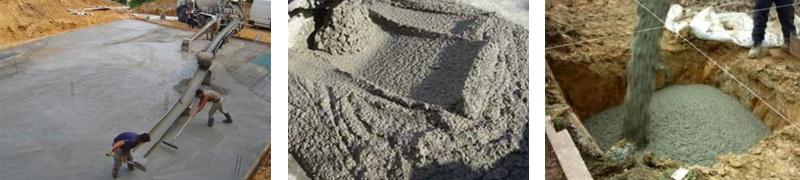 Фото тощего мелкозернистого бетона