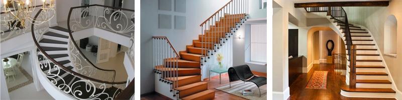 Железобетонные лестницы в интерьере