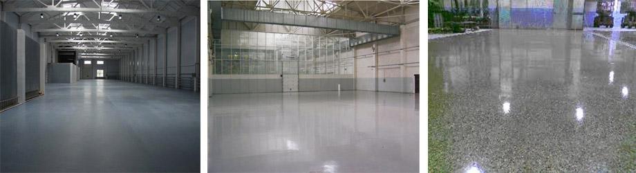 Железненное бетонное покрытие