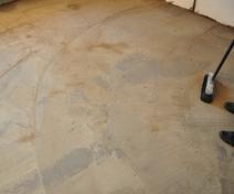 Монтаж пола цементно-печаной смесью производства Эталон Строй