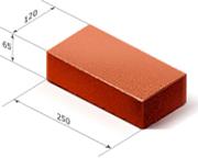 Определяем размер кирпича рядового полнотелого одинарного