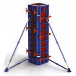 Особенности опалубок для колонн