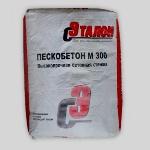 Пескобетон марки м-300 производства «Эталон Строй»