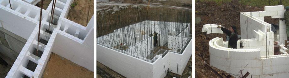 Применение несъёмной опалубки в строительстве