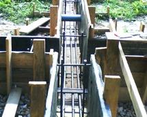 Прутья углепластиковые в строительстве фундамента