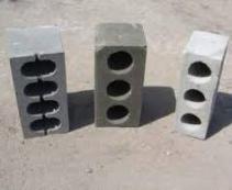 Различные типы производимых блоков