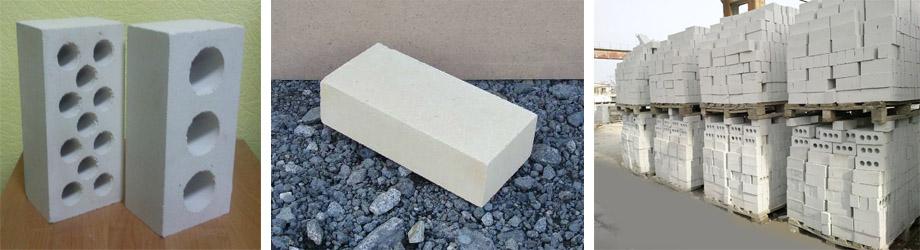 Разновидности силикатных строительных камней