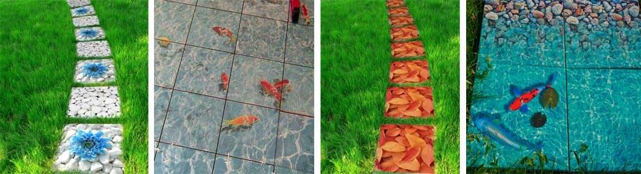 Разнообразие 3D плиток