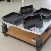 Формы для изготовления плитки методом вибролитья
