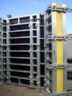 Фото алюминиевой строительной конструкции