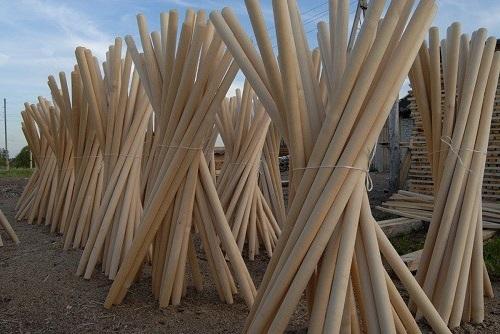 черенок для лопаты деревянный