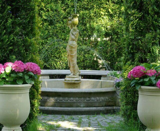садовая клумба