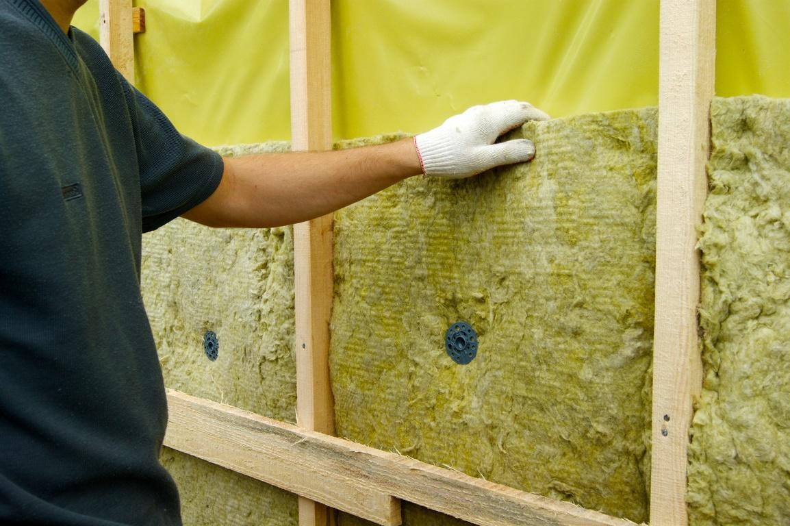 минеральная вата для стен