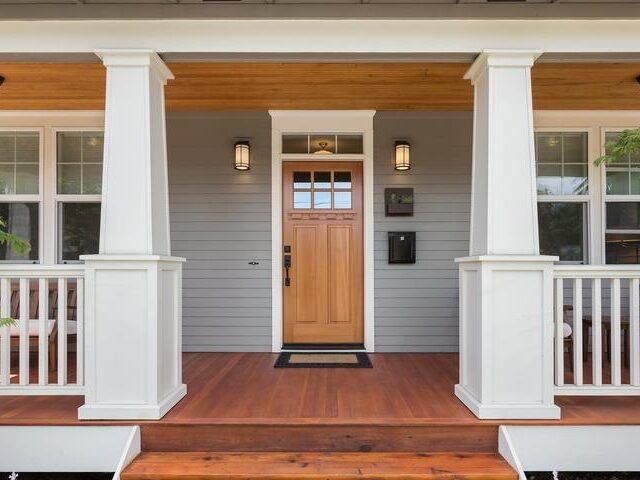 входные двери в дом с терморазрывом
