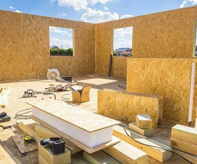 Проект СИП-дома в Алматы